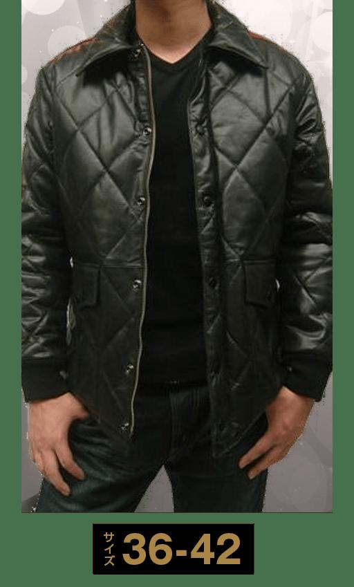 バッファローレザー中綿ジャケット6281