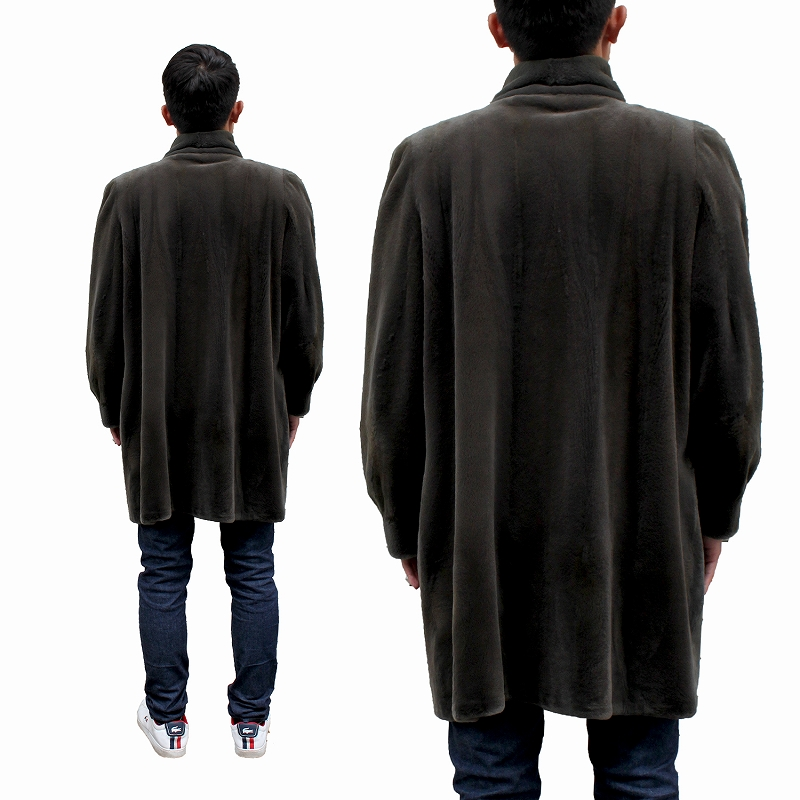 サガミンクの毛皮コートta-1014